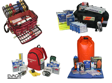 How to build your own Emergency Preparedness and Survival Kit | ownload FREE resources, access quality survival kits  | Survival Kit -  be better prepared with  EVAQ8.co.uk the UK's Emergency Preparedness specialist
